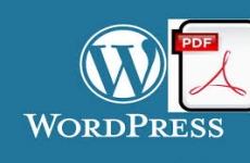 فایل PDF آموزش WordPress