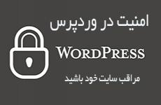 امنیت و حفاظت در وردپرس WordPress Security