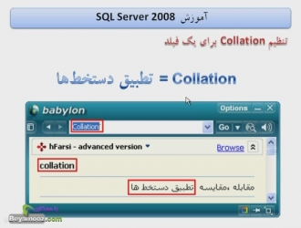 معنی Collation
