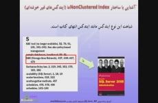 شباهت Non-Clustered Index به فهرست کتاب