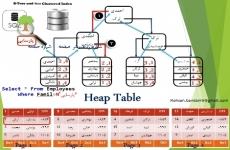 معماری ایندکس کلاستر و نان کلاستر در SQLSERVER