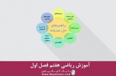 آموزش ریاضی هفتم فصل اول