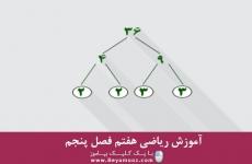 آموزش ریاضی هفتم فصل پنجم