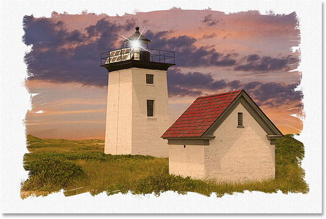 Wood End lighthouse in Provincetown, Massachusetts, USA. Image licensed from Shutterstock by Photoshop Essentials.com