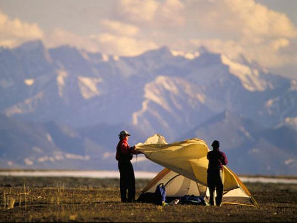 Alaska camping adventures اصول برپایی کمپ در کوهستان
