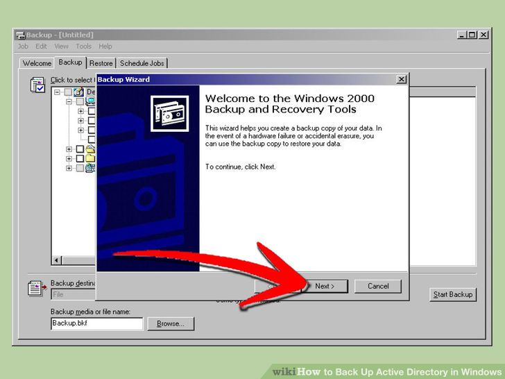 Image titled Back Up Active Directory in Windows Step 3