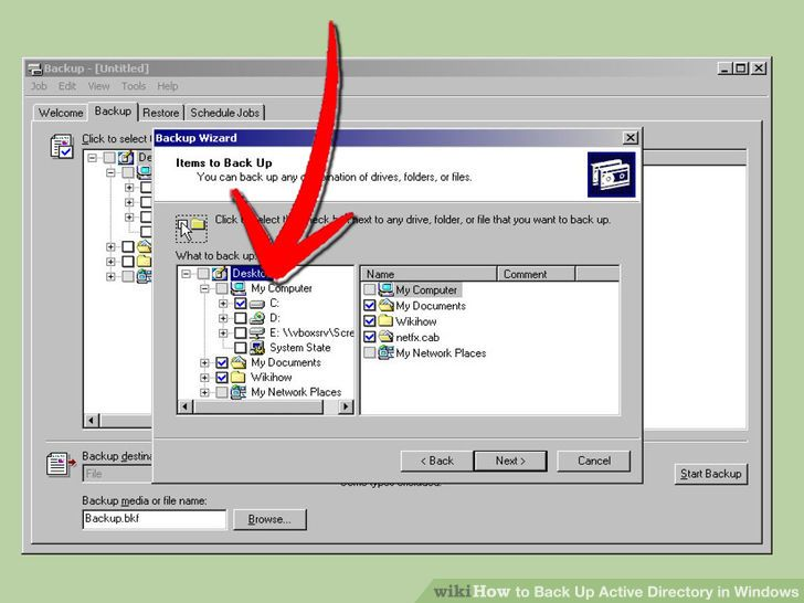 Image titled Back Up Active Directory in Windows Step 6