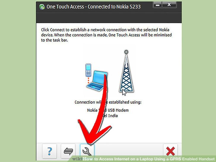 Image titled Access Internet on a Laptop Using a GPRS Enabled Handset Step 5