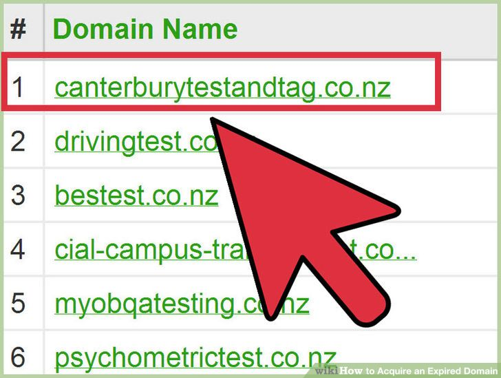 Image titled Acquire an Expired Domain Step 3