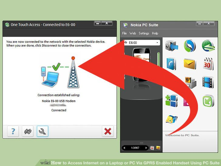 Image titled Access Internet on a Laptop or PC Via GPRS Enabled Handset Using PC Suite Step 11