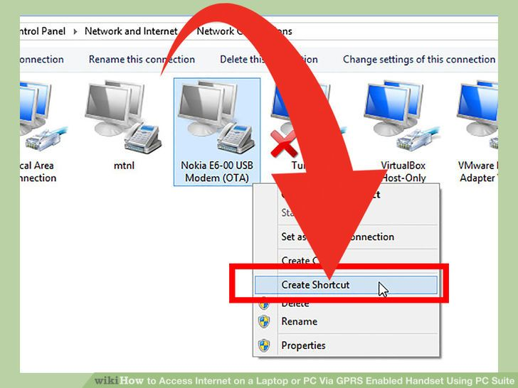 Image titled Access Internet on a Laptop or PC Via GPRS Enabled Handset Using PC Suite Step 15