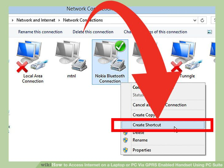 Image titled Access Internet on a Laptop or PC Via GPRS Enabled Handset Using PC Suite Step 28