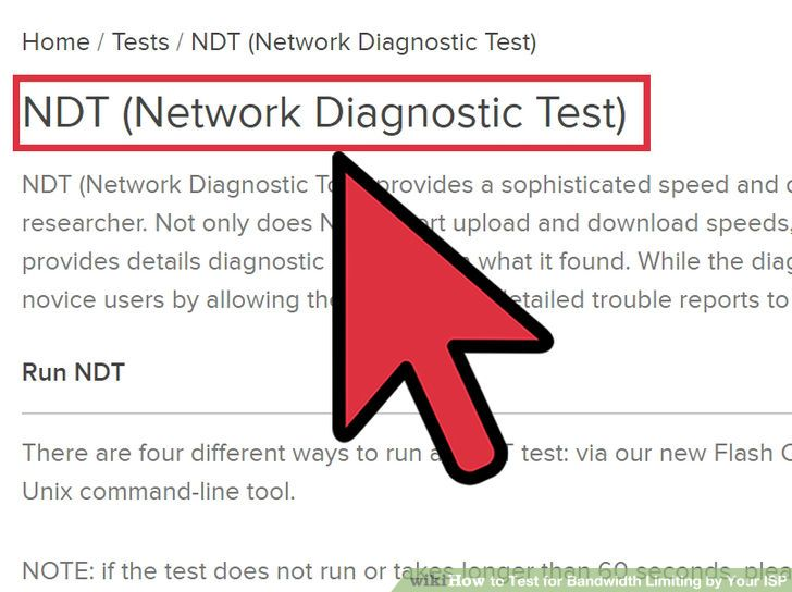 Image titled Test for Bandwidth Limiting by Your ISP Step 3