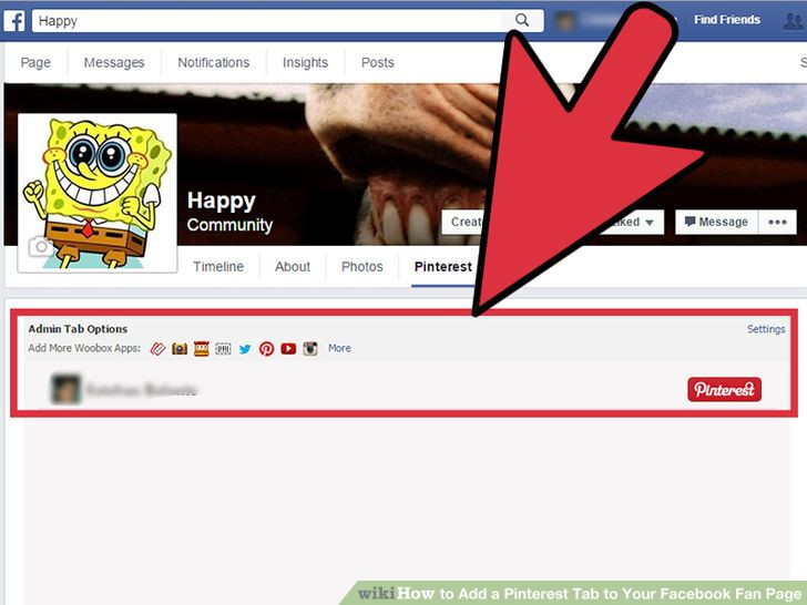 Image titled Add a Pinterest Tab to Your Facebook Fan Page Step 11